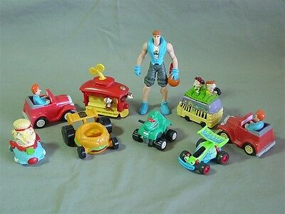 Lot of 9 Burger King Fast Food Children's Toys