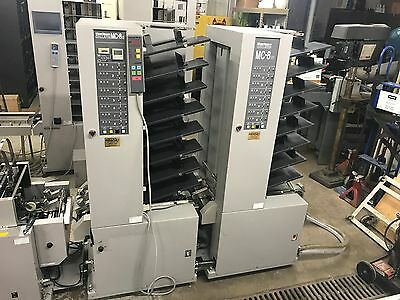 Horizon MC-8 Collator Twin Tower, SPF-10 Stitcher Folder, FC-10 II Trimmer