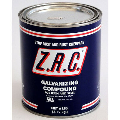 ZRC Cold Galvanizing Compound Quart Can... 95% ZINC (Z.R.C.) 10002