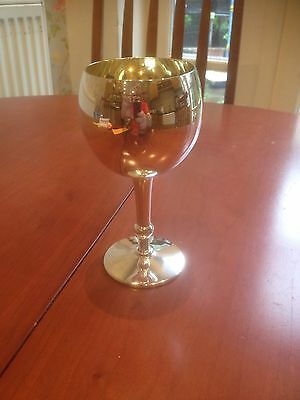 Solid Silver Wine Goblet