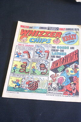 WHIZZER & CHIPS  7th October 1978