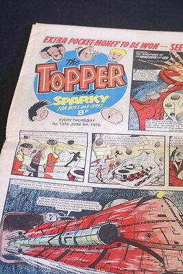 The TOPPER and Sparky vintage comic. . No 1375. June 9th 1979