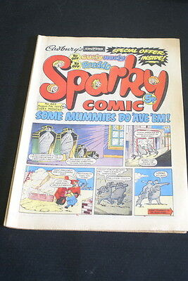 SPARKY Vintage Comic. No 603. August 7th 1976