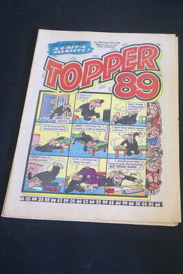 TOPPER  vintage comic. . No 1908. August 26th 1989