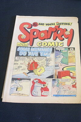 SPARKY Vintage Comic. 595. June 12th 1976