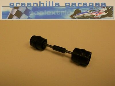 Greenhills Scalextric Porsche 935 Turbo Front Axle & Wheels Black Used – P2649