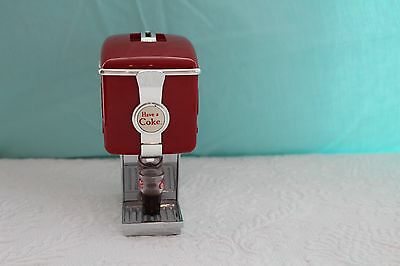 Coca Cola 1997 Mini Red Fountain Dispenser Bank