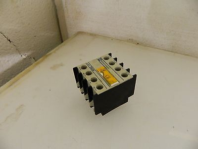 Telemecanique Auxiliary Contact, # LA1DN04, LADN04, Used, Warranty