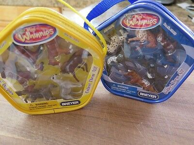 NEW 2 Packs of BREYER Mini WHINNIES 6 Dapples 6 Appaloosas NIP