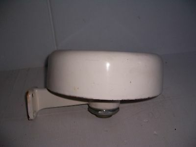 Antique American Standard Round Cast Iron Dentist Spit Rinse Wash Spittoon Sink