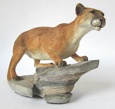 MOUNTAIN LION Country Artists Retired Figurine 2007Enesco CA04317 NEW in BOX