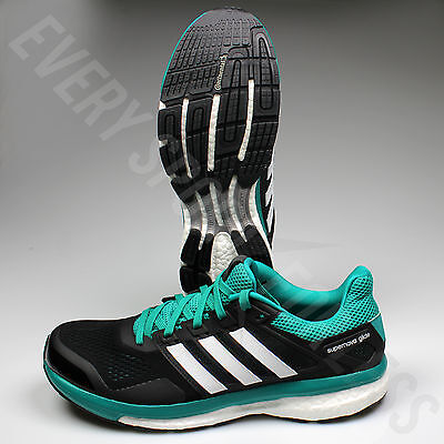 fdf4d8aa9 ADIDAS SUPERNOVA GLIDE 8 M AF6547 Running Shoes-Black White Green ...