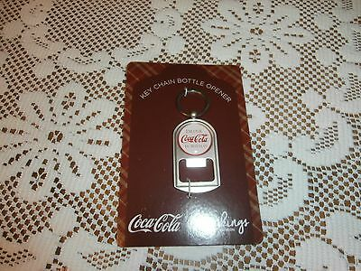 New With Tags Gibson  Coca-Cola Key Chain Bottle Opener **** Free Shipping ****