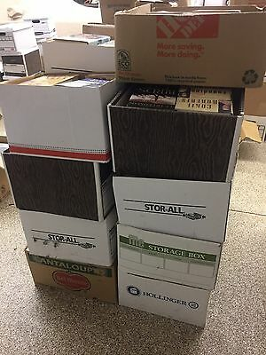 Wholesale lot of 650 barcoded only Books from 1980's to 2000's neatly packed