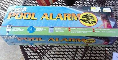 Aqua Chem Pool Alarm for Above-Ground and In Ground Pools New Other