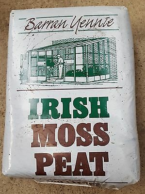 IRISH MOSS PEAT x 100 litres Probably the world's best natural soil conditioner.
