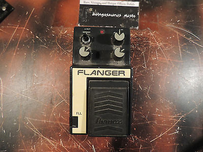 Vintage Ibanez Fll Flanger Made In Japan  Effects Pedal Free Shipping!!!!