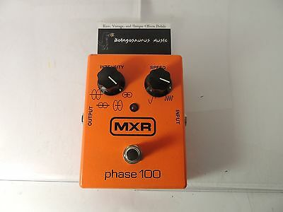 Mxr Phase 100 Phaser Effects Pedal Dunlop Phase Shifter Free Usa Shipping