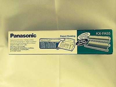 Panasonic KX-FA55 Fax Machine Replacement Ink Film 1 Roll