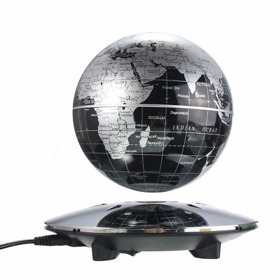 Educational 6 inch Magnetic Levitation Floating Globe Earth Map Home Office Gift