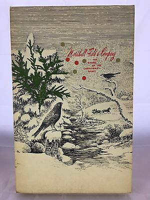 Vintage Marshall Fields & Co Chicago The Store Of Christmas Spirit Lrg Gift Box