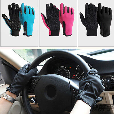 Windproof Touch Screen Glove Riding Unisex Touchscreen Winter  Warm Full-finger