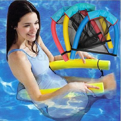 Swimming Pool Beach Noodle Float Chair Floating Seats Adult Kid Children