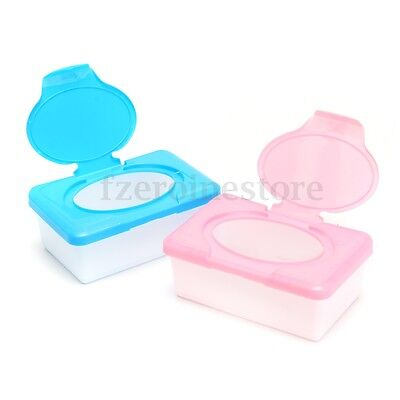 Dry & Wet Tissue Paper Case Baby Wipes Napkin Storage Box Holder Container
