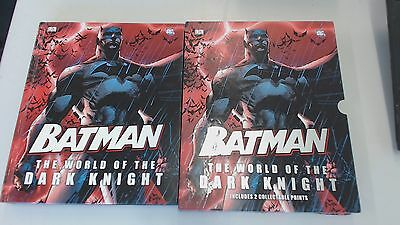 Batman: The World of the Dark Knight with 2 Collectable Prints, A