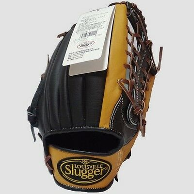 """Louisville Slugger 12.5"""" Baseball Gloves Outfield Right Hand RHT Leather Brown"""