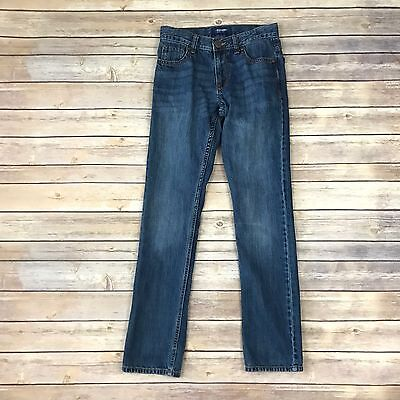 OLD NAVY Boys Size 14 Slim Blue Skinny Jeans