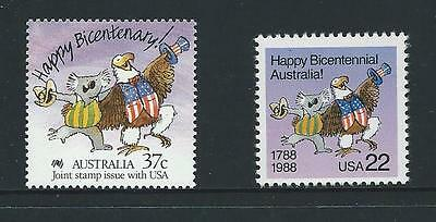AUSTRALIA 1988 Bicentennary - Joint Issue with U.S.A. MNH (SG 1110)