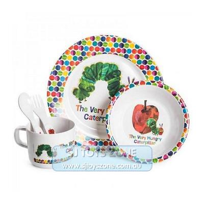 The World Of Eric Carle The Very Hungry Caterpillar Dinner Set 5 Piece for Kids