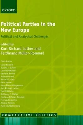 NEW Political Parties In The New Europe BOOK (Hardback) Free P&H
