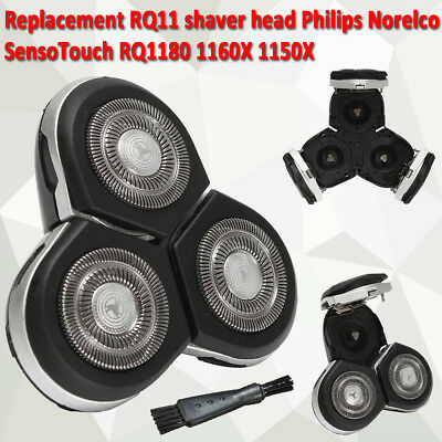 RQ11 Shaver Head Parts For Philips Norelco SensoTouch RQ1180 1160X 1150X razor