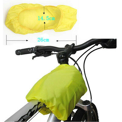 Cycling Bike Bicycle Seat Pack Front Tube Bag Saddle Pannier Rear Rain Cover