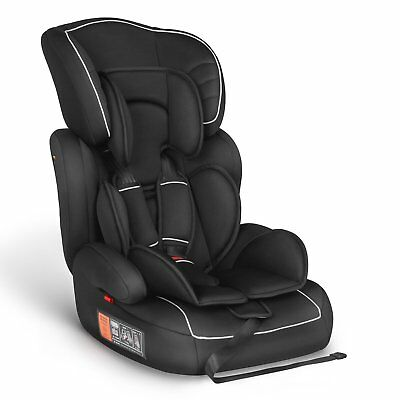 Black Besrey Young Sport Child Baby Car Seat 9 M~12 Yrs Booster Group 1/2/3