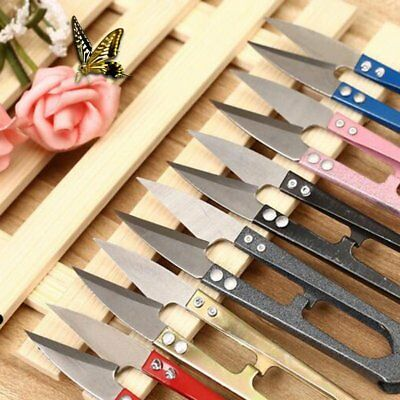 Mini Handheld Sewing Embroidery Thread Cutter Snips Scissors Fishing Craft