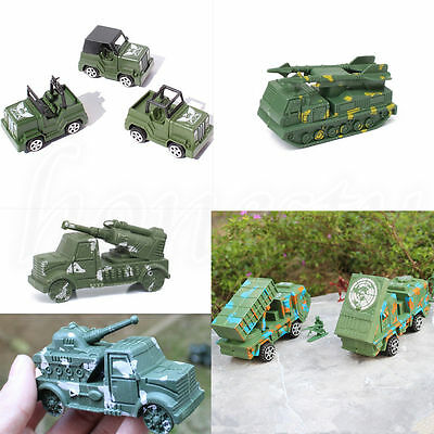 Plastic Car Model Classic Missile Launch Vehicle Chariot Military Car Toy Gift