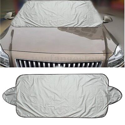 190 x 70cm Car Windscreen Cover Frost Ice Shield Snow Dust Protector Sun Shade