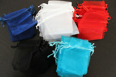 113 x Organza Bags for Jewellery etc. – 7x9cm