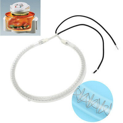 """Halogen Oven Heating Element Bulb 1250W-1450W 6"""" Dia. Spare Parts Replacement"""