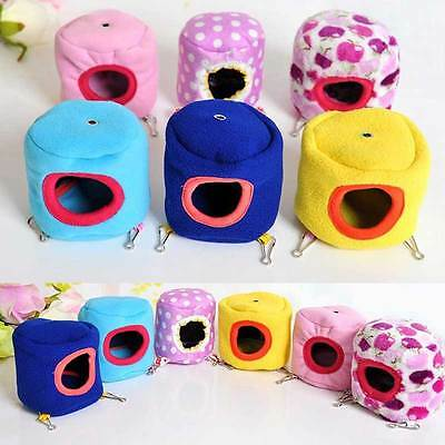 Rat Hamster Parrot Rabbit Squirrel Pet Cushion Warm Hanging Bed Toy House Cage