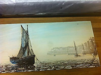 Vintage Oil Painting on canvas by French Artist J. Passeur  (Original)