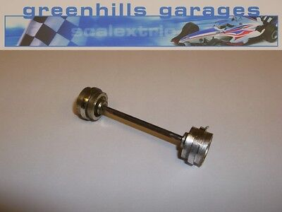 Greenhills Scalextric Porsche 917 C22 Front Axle & Wheels Used – P2438