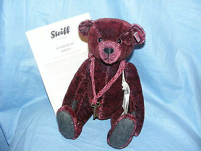 Steiff Teddy Bear Basco - Red Tipped - EAN 034343 Limited Edition