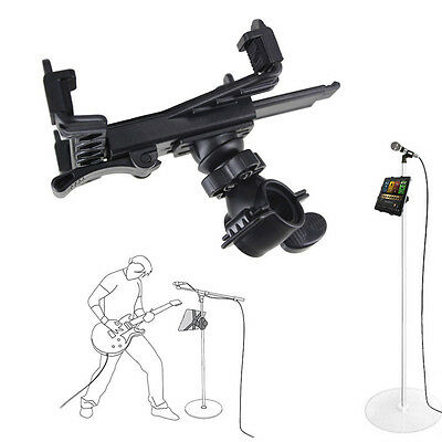 Music Microphone Stand Holder Mount For 7''-11''Tablet iPad Air Samsung Tab HCXM