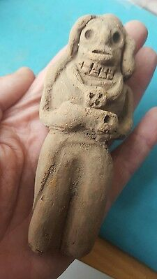 Ultra Rare large Ancient Neolithic Anthromorphic Vinca figurine,