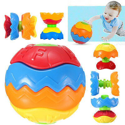 Baby Toddler Kid Child Toy Puzzle Transformer Ball 3D Blocks Shape Develop Toys