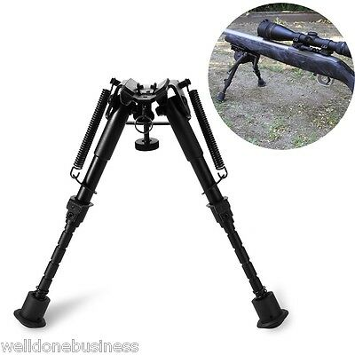 6-9inch Foldable Hunting Shooting Air Rifle Gun Swivel Sniper Adjustable Bipod